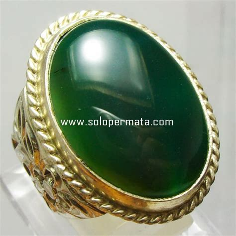 Cincin Batu Topaz Pancawarna batu permata hijau garut kode 9a06 garansi asli