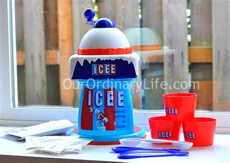 icee deluxe slushy machine icee