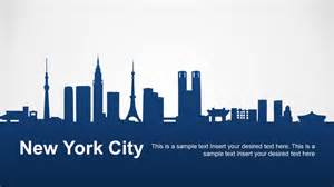 will template new york new york city powerpoint template slidemodel