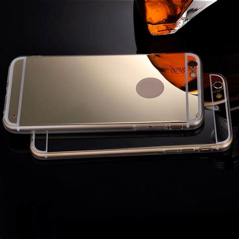 Ultrathin Mirror Iphone 5 5g 5s Softcase Soft Tpu Ultra Thin ultra thin luxury soft silicone mirror cover for iphone 5 5s se 6 6s 7 plus ebay