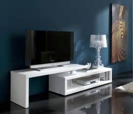modern tv unit modern side or l z table in white high gloss