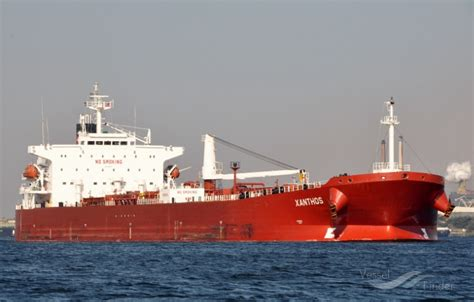 schip xanthos xanthos crude oil tanker details and current position