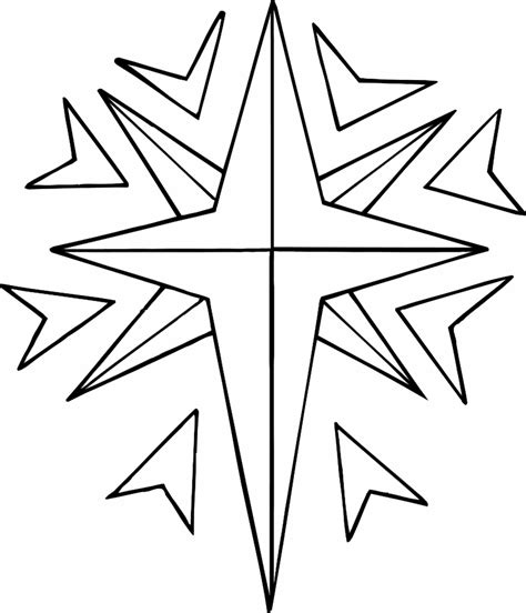 printable north star im 225 genes de estrellas para colorear grandes archivos