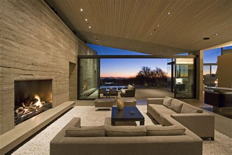 exclusive idea brown modern living room fireplace