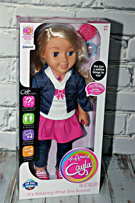 my friend cayla review meet my friend cayla she is a talking doll review 2