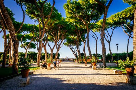 giardino degli aranci rome the green side of rome five gardens not to miss italy