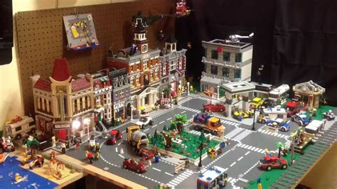 Custom Floor Plans Free lego city tour update 5 amp your ideas on expansion youtube