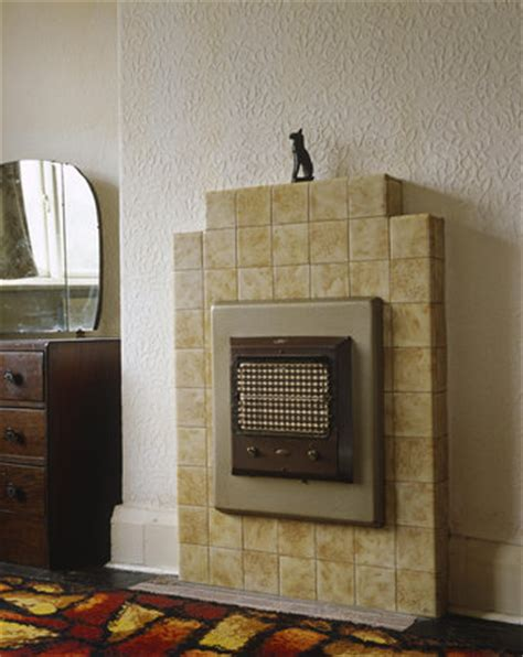 1930s bedroom fireplace 1930 s electric fire fitted into a tiled fireplace in a
