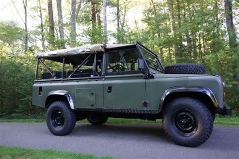 land rover 110 truck 1986 land rover defender 110 top truck