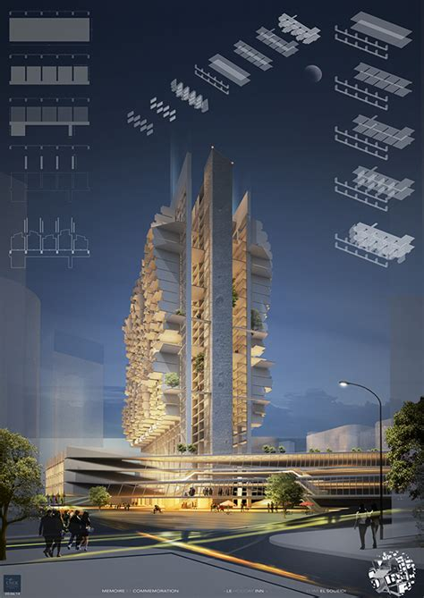design competition beirut renovation of iconic holiday inn hotel in beirut evolo