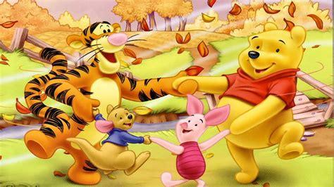 winnie  pooh  merry friends cartoon autumn wallpapers hd  wallpaperscom