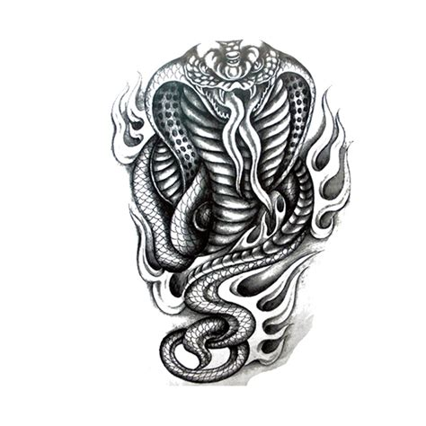 black cobra tattoo 46 cobra snake tattoos collection