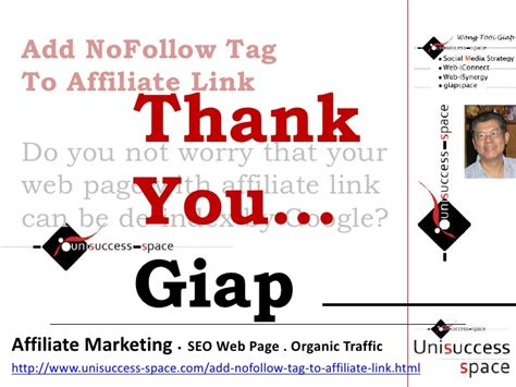 Links To Stalk 27 by Add Nofollow Tag To Affiliate Link To Effectually Avoid De