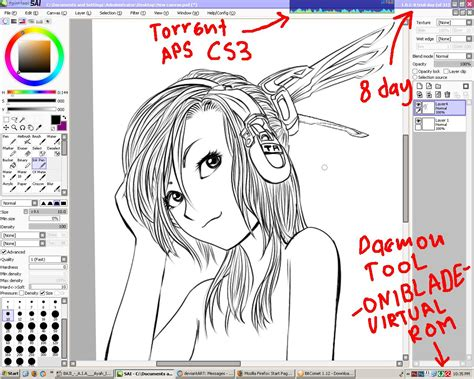 paint tool sai free paint tool sai inking by jerungan on deviantart