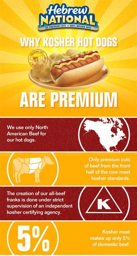 kosher dogs what makes a kosher premium hebrew national