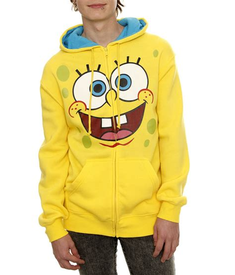 Sweater Hodie Zipper The Doktor Hodie The Doktor Aif612 spongebob squarepants zipper hoodie