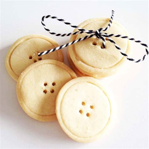 Handcrafted Buttons - handmade shortbread button biscuits by what s