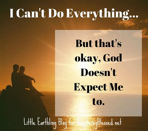 what does god expect of me how to release the supernatural character of god in your books i can t do everything and god doesn t expect me to imc