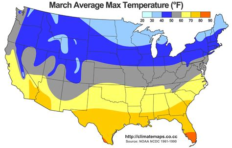 map of us by temperature high average temp map of us cdoovision