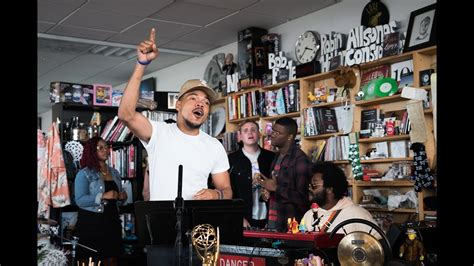 Small Desk Concerts Chance The Rapper Meets The Tiny Desk Lemonwire