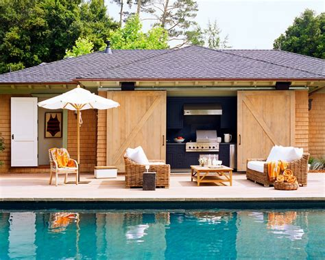 cabana house cabana contemporary pool wick design