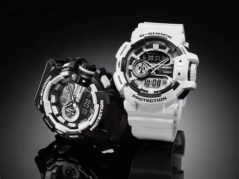Gshock Ga 400 live photos g shock black white ga 400 7a