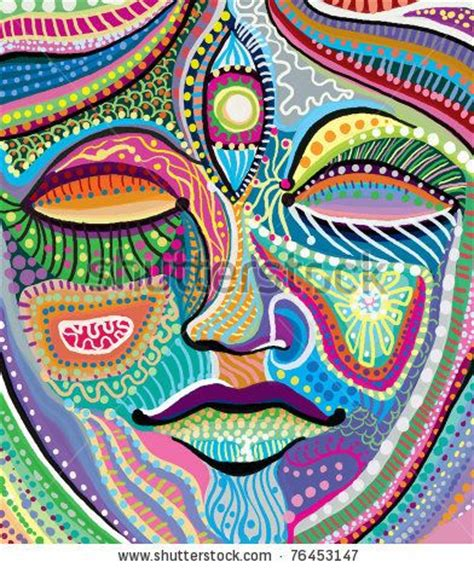 indian pattern artist 81 best abstract faces images on pinterest faces