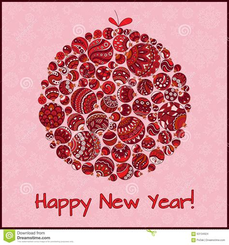 free vintage happy new year greeting cards elves with happy new year greeting card stock vector image 63134924