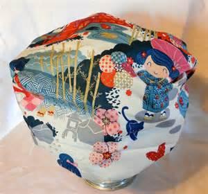 shower cap japanese kawaii geisha pattern with cats kittens
