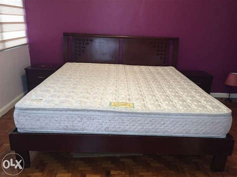 california king size bed with ambassador orthopedic