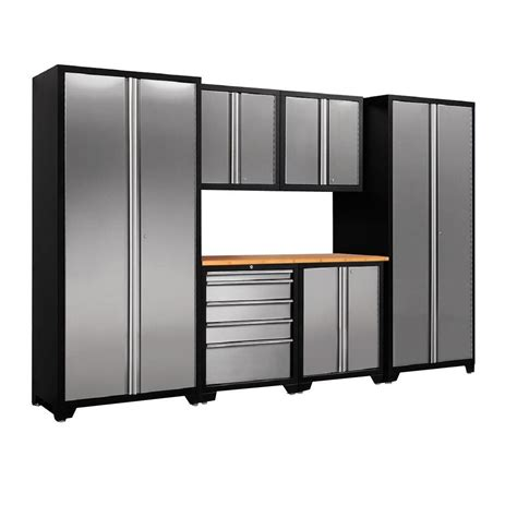 Garage Cabinets At Home Depot Newage Products Performance Plus Plate 83 In H X