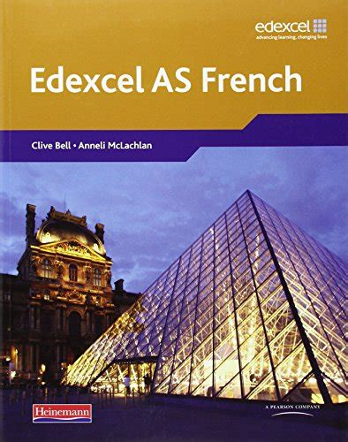 libro edexcel a2 french student book and cd rom di clive bell anneli mclachlan