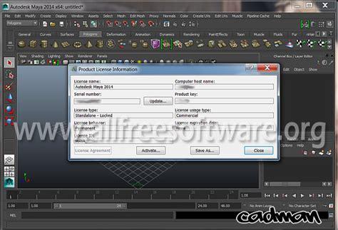 free download maya software full version crack autodesk maya 2014 with serial and crack free download