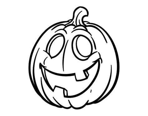 dibujos de calabazas para halloween dibujo de calabaza de halloween para colorear dibujos net