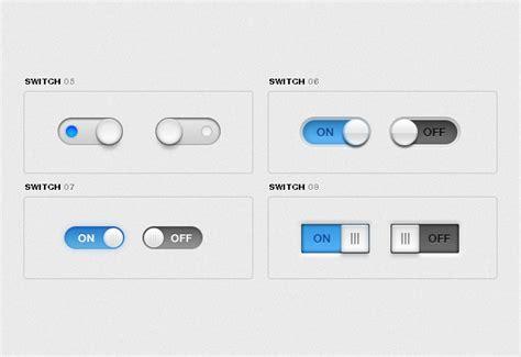 ui layout toggle free ui toggle switches