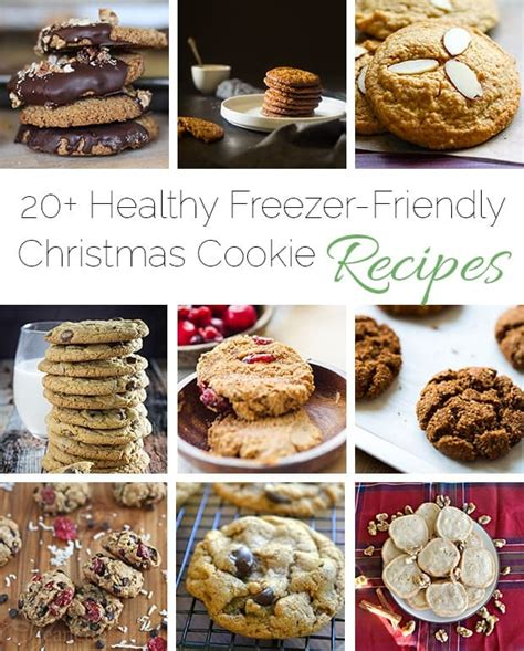 A Month Of Cookies Roundup by 20 Healthy Freezer Friendly Cookies Food