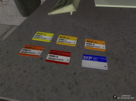 key card scp template scp cb keycards