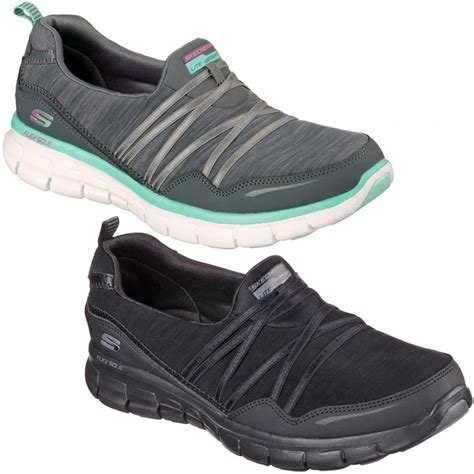 memory foam comfort shoes ladies skechers scene stealer memory foam comfort shoes