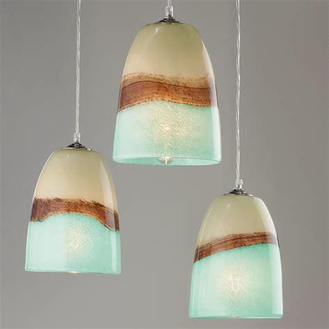 aqua glass pendant light strata glass pendant light shades of light