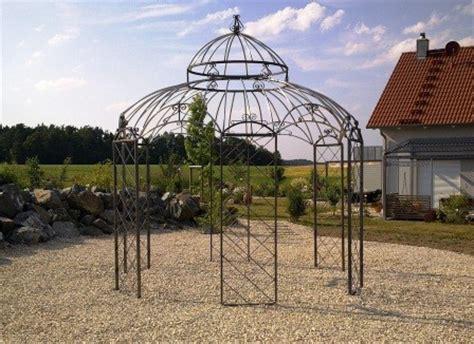 pavillon verzinkt stabiler pavillon verzinkt schwarz 216 340cm rosenspalier