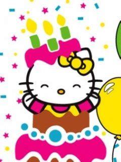 hello kitty wallpaper happy birthday happy birthday hello kitty cartoon wallpaper