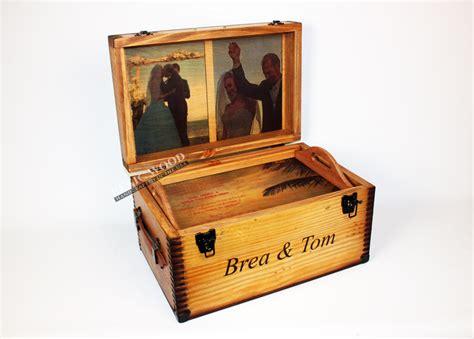 Handmade Wedding Keepsake Box - custom wedding keepsake box