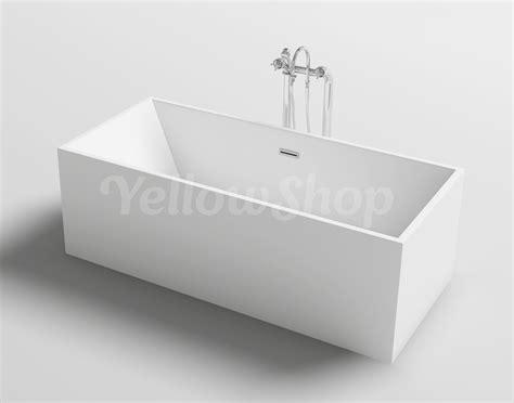 vasca da bagno freestanding vasca da bagno rettangolare kube freestanding moderna