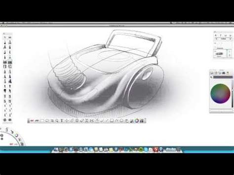 sketchbook pro tutorial industrial design how to draw product design sketching wacom youtube