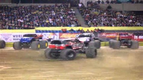 monster truck show tacoma dome monster jam tacoma dome january 15 2011 8pm show part