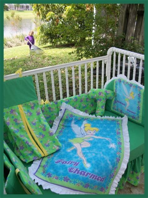 Tinkerbell Crib Bedding Tinkerbell Crib Bedding Set