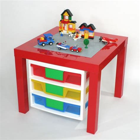 lego three drawer organizer 1000 images about ikea lack lego table hack on