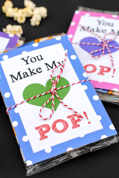 valentines day ideas for a you like you make my pop s day idea