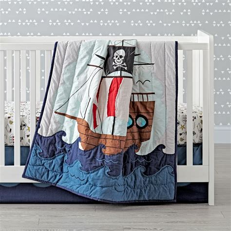 Pirate Crib by Pirate Crib Bedding The Land Of Nod
