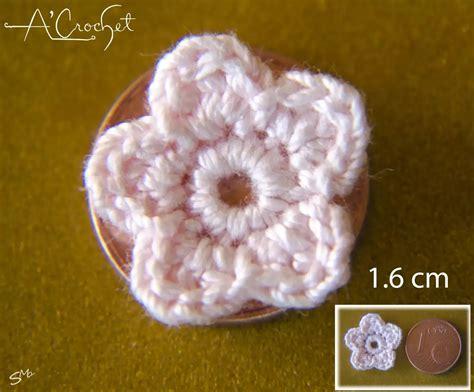 Modele De Fleur Au Crochet Facile fleur au crochet fil en coton merceris 233 facile 224 crochet